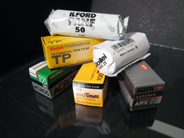 Roll Film Stack