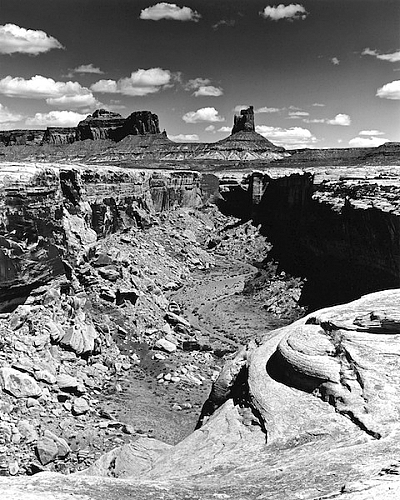 White Rim and Candlestick Tower