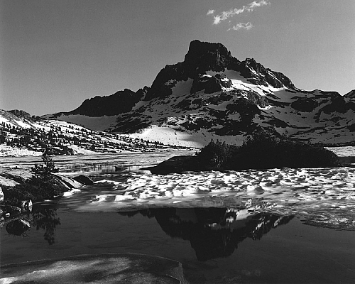 Banner Peak Reflection, 1000 Island Lake
