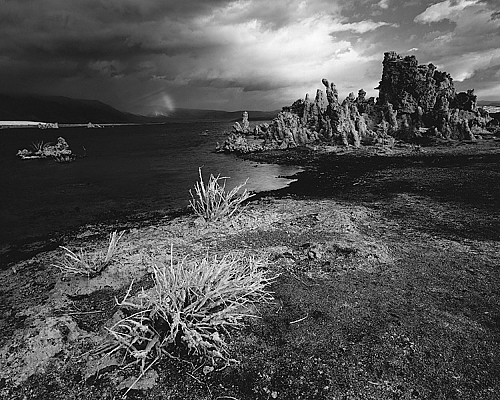 Storm and Rainbow, Mono Lake