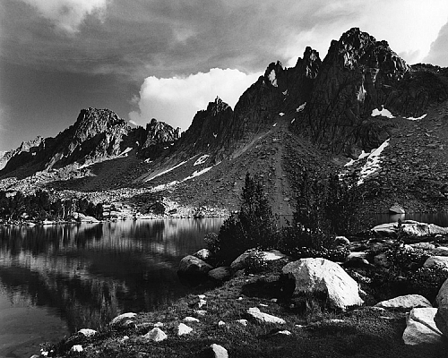 Afternoon, Kearsarge Lakes