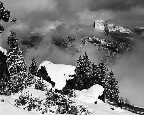 Clearing Winter Storm, Half Dome