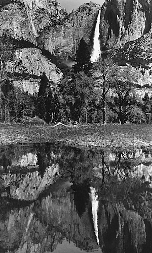 Yosemite Falls Refection