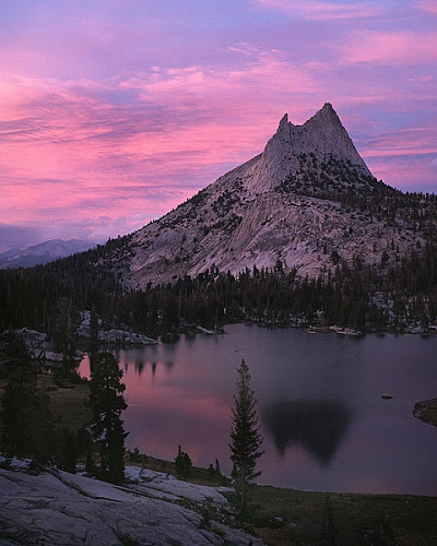Sunset, Cathedral Peak